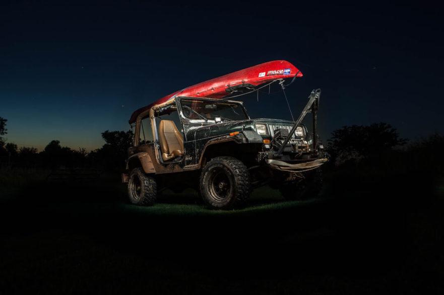 Kayak Rack for Jeep Cherokee