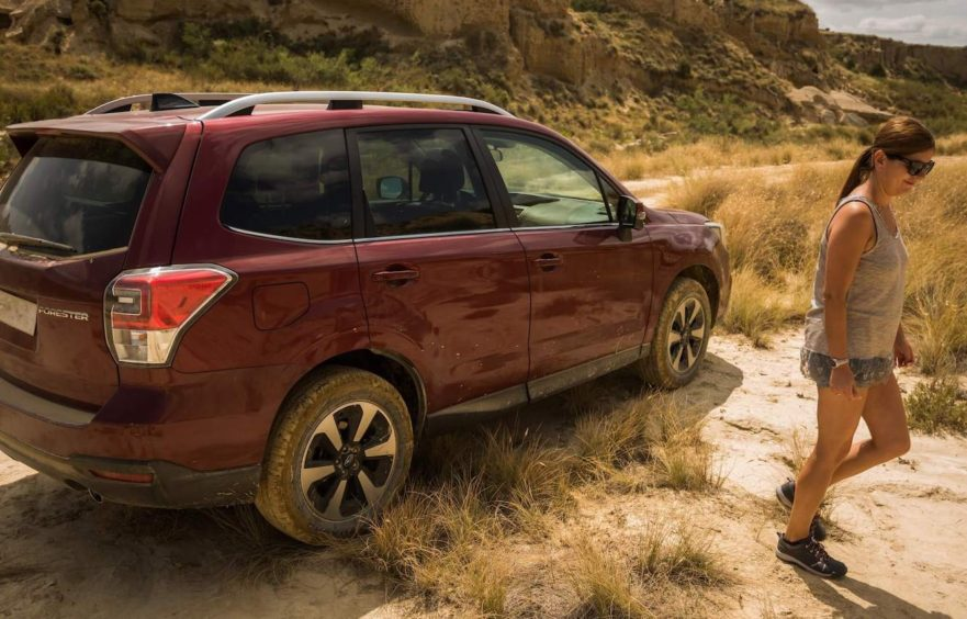 Subaru Forester Cover Image for roof racks and crossbars